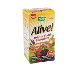 Alive (fara fier) multivitamine ,30 tablete