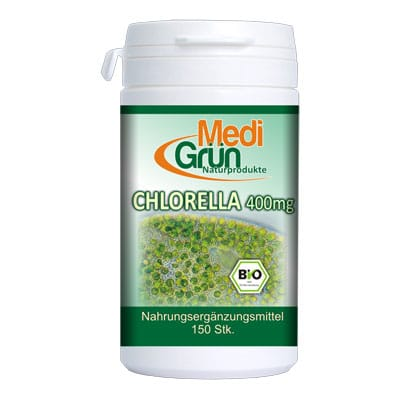 Medigrun Bio Chlorella 400 mg 150 tablete