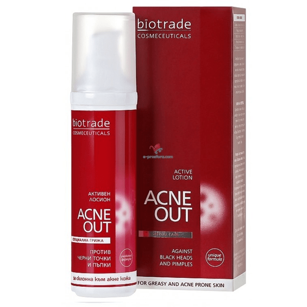 Biotrade Acne Out Lotiune Activa,60ml