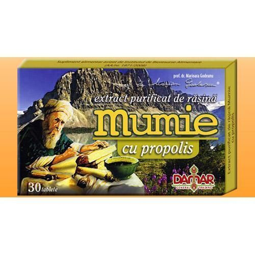Extract Mumie cu Propolis 30 tablete