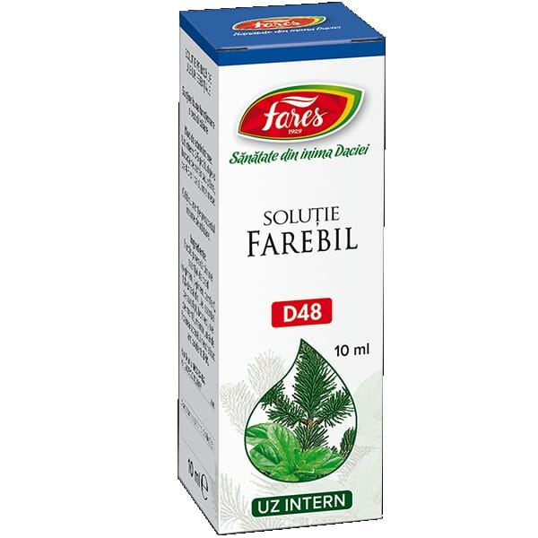 Fares Farebil, D48, soluție 10ml
