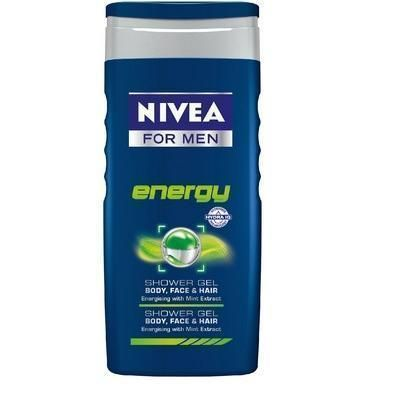 Nivea Gel De Dus Energy For Men, 250ml