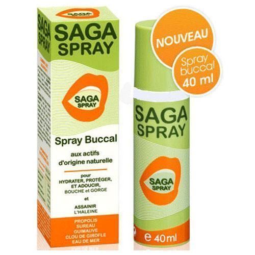 Saga Spray Bucal