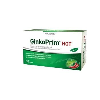 Walmark GinkoPrim Hot 60 tablete