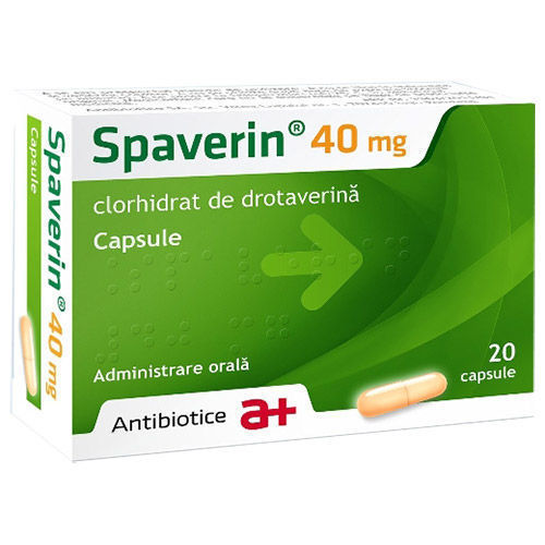 Spaverin 40 mg 20 capsule