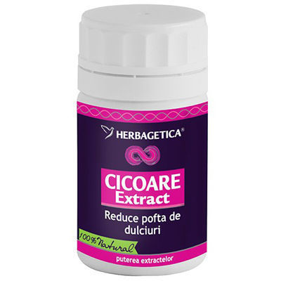 Herbagetica Cicoare Extract 70cp