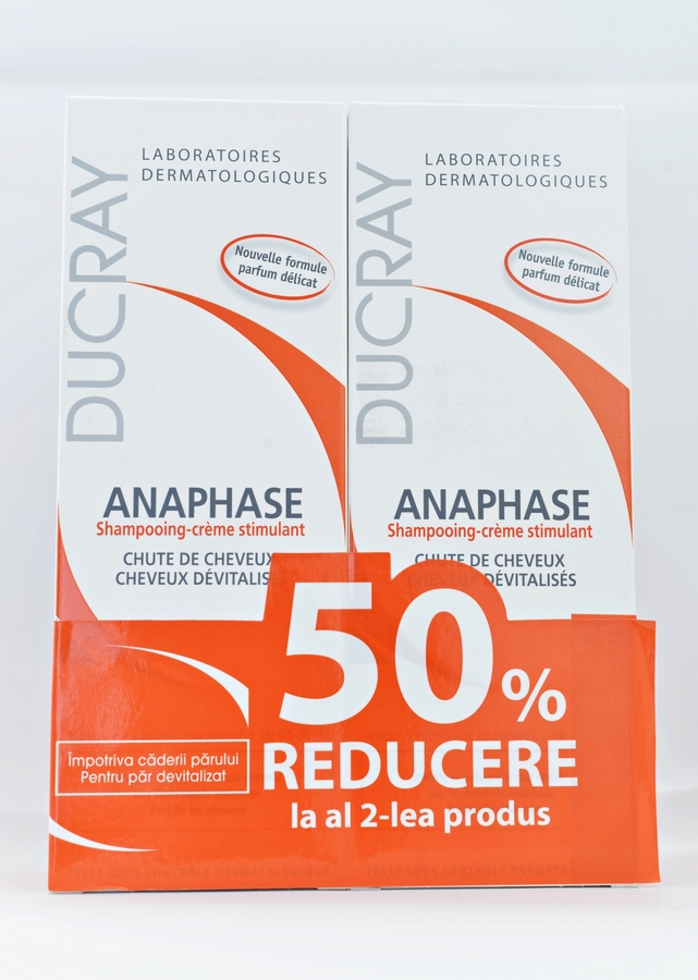 Ducray Anaphase Sampon 200ml  Oferta promotionala 1+1 Redus
