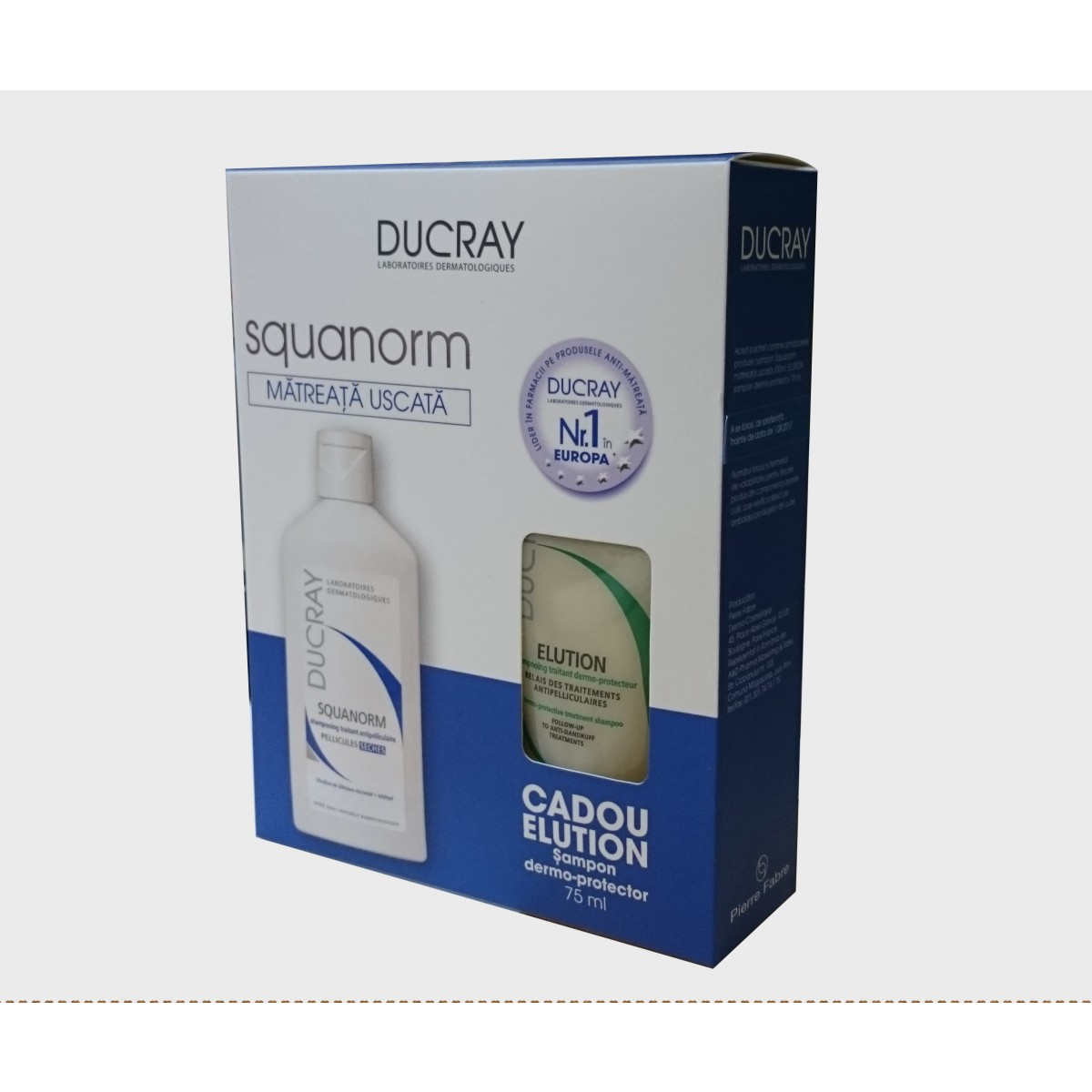 Ducray Squanorm Sampon matreata uscata ,200ml