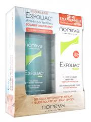 Noreva Exfoliac SPF50 fluid+ Exfoliac gel purifiant 100ml