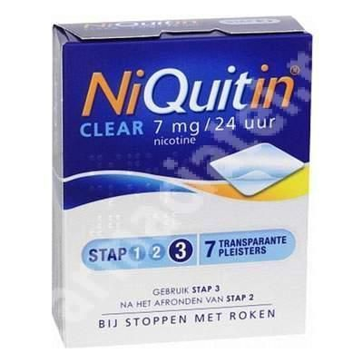 Niquitin Clear Patch 14mg ,7 plasturi