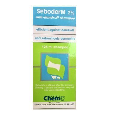 Seboderm Sampon 2% 125ml