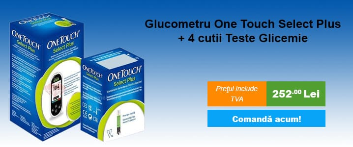 Glucometru One Touch Select Plus